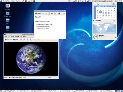 Новая операционная система Fedora 14