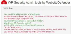 Безопасность сайта: плагин WP Security Scan для WordPress