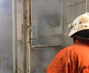 У Кременці через пожежу евакуйовували людей з багатоповерхівки