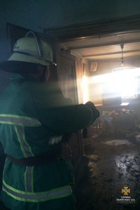 На Тернопільщині в пожежі померла людина (фото)