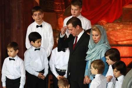 Рождество 2018: Как Владимир Путин и Дмитрий Медведев встретили праздник