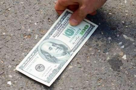 Шоссе в США засыпало деньгами после ДТП