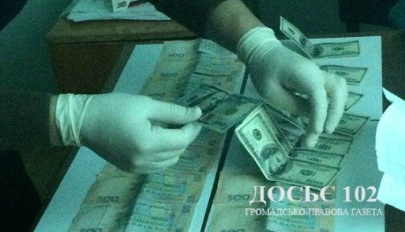У Тернополі спіймали посередницю, яка збирала хабарі для чиновників (фото)
