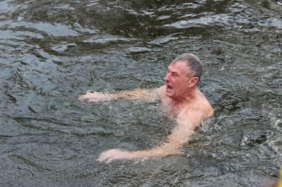 Як святкують Водохреще тернопільські моржі (фото)