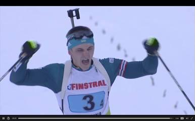 Тернопільський біатлоніст у складі команди виграв Чемпіонат Європи (фото)