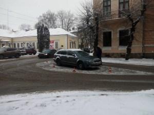 В центрі Тернополя збили пішохода (фото)