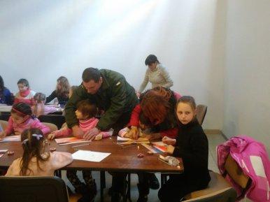 Різдвяна зустріч у Тернополі зібрала воїнів АТО та їхніх родичів (фото)