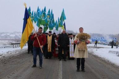 Організації Аграрної партії Тернопільщини та Хмельниччини побраталися на Збручі (фото)