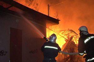 На Тернопільщині горіла фельдшерська будівля