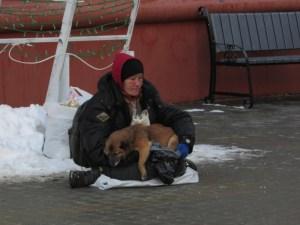 У Тернополі жебракують навіть тварини (фото)