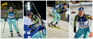 Українські біатлоністки показали непогані результати у мас-старті