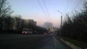 У Тернополі горіла котельня (фото)