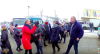 На Тернопільщині страйкують медики. Дорога перекрита (фото)