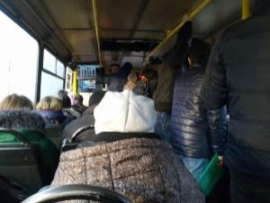 У Тернополі водії маршруток «воюють» за пасажирів
