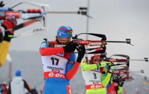 Українські біатлоністи показали задовільний результат у спринті