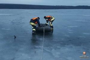 На Тернопільщині в водоймі втопився рибалка (фото)