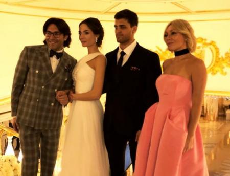 Малахов, Лорак и Меладзе погуляли на свадьбе дочери олигарха Туганова