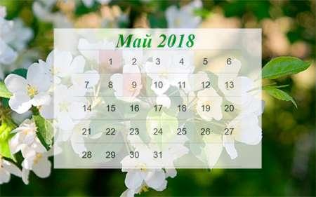 Как отдыхаем на майские праздники в 2018 году в России
