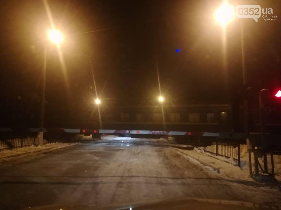 Біля Тернополя автівка зіткнулась з потягом (фото)