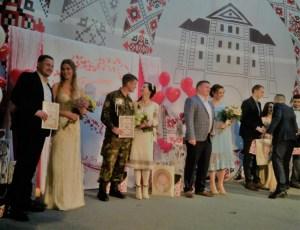 У день Закоханих на Тернопільщині одружилось 40 пар (фото)