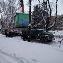 У Тернополі на «Дружбі» демонтували кіоск (фото)