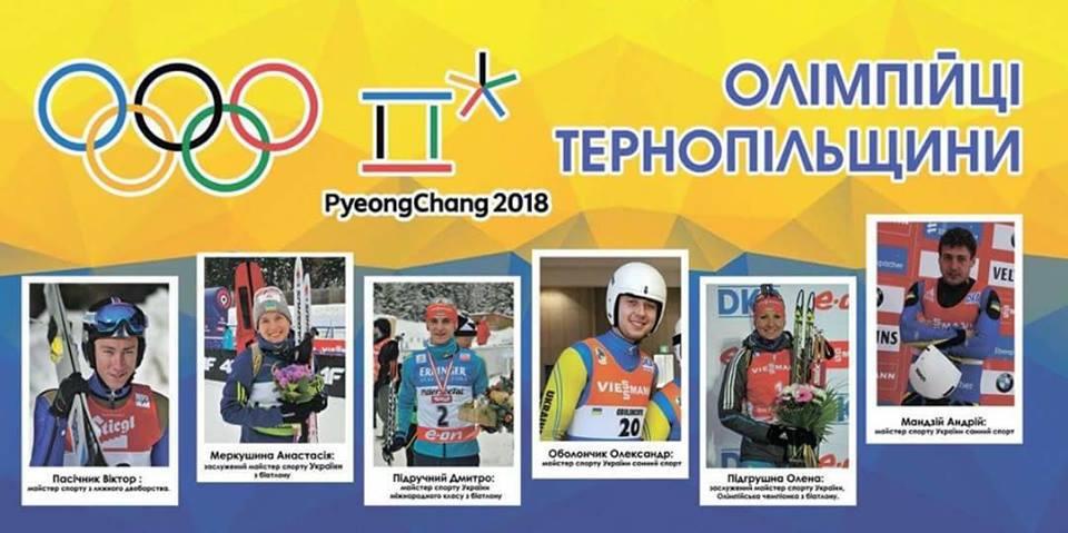 Для 6 тернополян розпочалися головні змагання життя