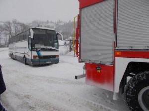Польський автобус потрапив у сніжний полон на півдні Тернопільщини