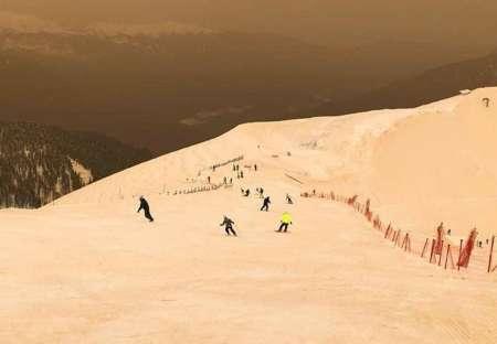 Сочи накрыла песчаная буря из Африки: Красную поляну засыпало песком. ФОТО, ВИДЕО