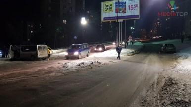 У Тернополі на Коновальця масштабна аварія (фото)