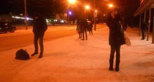 У Тернополі люди по 40 хвилин чекали на громадський транспорт