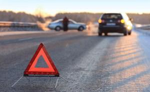 На Тернопільщині в кюветі опинився елітний автомобіль