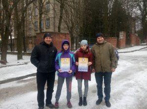 Сестри з Тернополя стали призерками змагання з вільної боротьби у Львові