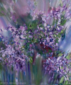 Відома тернопільська художниця розповіла таємницю ангелів на картинах