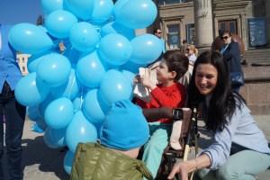 Сьогодні відбудеться акція на підтримку дітей-аутистів «Тернопіль у блакитному»
