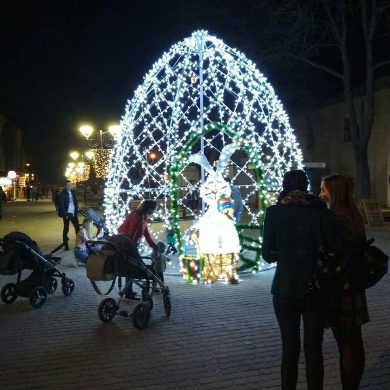 У центрі міста тернополян та гостей очікує великодній сюрприз