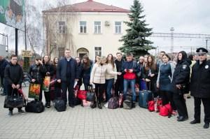 Школярі з Донбасу завітали на свята в Тернопільську область