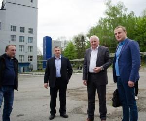 На Тернопільщині побував головний спиртовик України