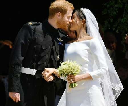 Принц Гарри и Меган Маркл обвенчались 19 мая в часовне святого Георгия