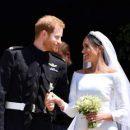 «Кислая мина» экс-подружки принца Гарри Челси Дэви на свадьбе позабавила пользователей Сети