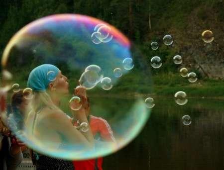 В Санкт-Петербурге в День защиты детей 1 июня пройдет шоу мыльных пузырей