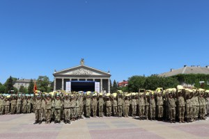 До Тернополя повернулися артилеристи