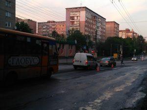 У перші дні травня ускладнений рух на одній з головних транспортних артерій Тернополя