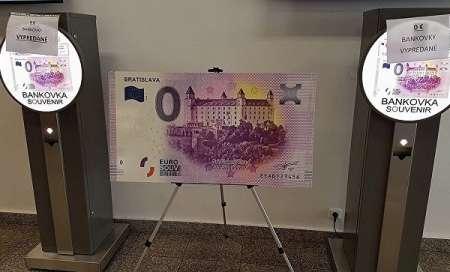 В Словакии выпустили сувенирную банкноту 0 евро с орфографической ошибкой