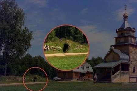 В одном из монастырей Псковской области очевидцы заметили призраков. ФОТО