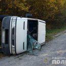 На Тернопільщині водій наробив біди на дорозі, а сам втік у ліс (ФОТО)