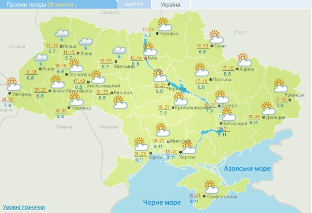"""Українцям обіцяють на вихідних """"майже літо"""""""