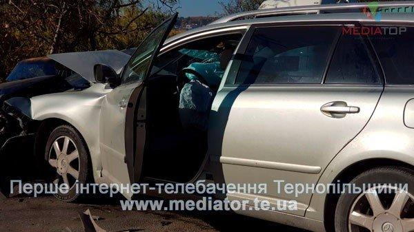 У Тернополі величезний затор через ДТП: зіткнулись дві автівки (ФОТО)