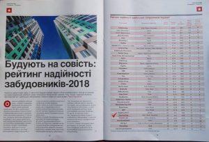 «Креатор-Буд» – у рейтингу кращих забудовників України