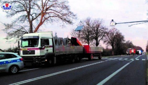 Смертельна аварія у Польщі: вантажівка збила українця (ФОТО)