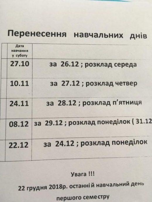 У Тернополі для школярів зимові канікули триватимуть рекордно довго